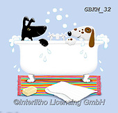 Kate, CUTE ANIMALS, LUSTIGE TIERE, ANIMALITOS DIVERTIDOS, paintings+++++,GBKM32,#ac#, EVERYDAY ,dogs,dog