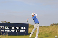 Peter Uihlein (USA) on the 11th tee during Round 3 of the 2015 Alfred Dunhill Links Championship at Kingsbarns in Scotland on 3/10/15.<br /> Picture: Thos Caffrey | Golffile