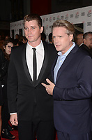HOLLYWOOD, CA - NOVEMBER 09: Garrett Hedlund, Cary Elwes at AFI Fest 2017 Opening Night Gala Screening Of Netflix's Mudbound at TCL Chinese Theatre on November 9, 2017 in Hollywood, California. Credit: David Edwards/MediaPunch /NortePhoto.com