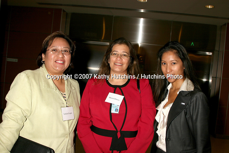 Southern California Health Leadership Panel.Keck School of Medicine of USC.Los Angeles,  CA.November 8, 2007.©2007 Kathy Hutchins / Hutchins Photo....