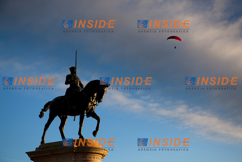 Statua di Anne de Montmorency.Castello di Chantilly.Chantilly 4/11/2012.Foto Bruno Beucher / Panoramic / Insidefoto.ITALY ONLY