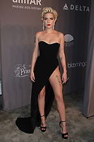 NEW YORK, NY - FEBRUARY 7:   Halsey  at the 2018 amfAR Gala honoring Lee Daniels and Stefano Tonchi at Cipriani Wall Street on February 7, 2018 in New York City. <br /> CAP/MPI99<br /> &copy;MPI99/Capital Pictures