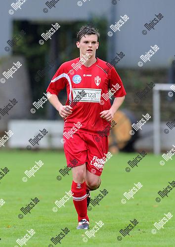 2011-10-09 / Voetbal / seizoen 2011-2012 / Berchem Sport - TSV Lyra / Jeroen Verbruggen..Foto: Mpics