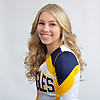 Britney Jahrmarkt of West Babylon poses for a portrait during Newsday's All-Long Island cheerleading photo shoot at company headquarters in Melville on Friday, March 23, 2018.