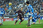 League Santander 2017-2018 - Game: 22.<br /> RCD Espanyol vs FC Barcelona: 1-1.<br /> Philippe Coutinho.