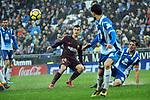 League Santander 2017-2018 - Game: 22.<br /> RCD Espanyol vs FC Barcelona: 1-1.<br /> Philippe Coutinho.