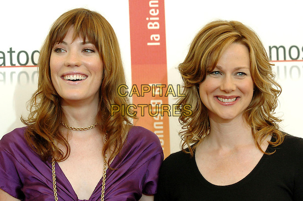 "JENNIFER CARPENTER & LAURA LINNEY.Photocall for the film ""The Exorcism of Emily Rose"".62nd Venice Film Festival.September 1st, 2005.headshot portrait.www.capitalpictures.com.sales@capitalpictures.com.© Capital Pictures."