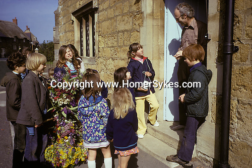 Abbotsbury garland Day Dorset. Annually May 13th. 1973