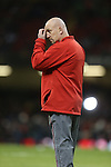 Wales defence coach Shaun Edwards.<br /> RBS 6 Nations 2014<br /> Wales v Italy<br /> Millennium Stadium<br /> 01.02.14<br /> <br /> &copy;Steve Pope-SPORTINGWALES