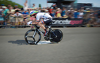 Daryl Impey (ZAF/Orica-GreenEDGE)<br /> <br /> stage 1 prologue: Utrecht (13.8km)<br /> Tour de France 2015