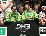 08.01.2019, Hohenschoenhausen, Berlin, GER, Handball WM, DHB,  TRAINING, im Bild <br /> Silvio Heinevetter (GER #12), Andreas Wolff (GER #33)<br /> <br />      <br /> Foto &copy; nordphoto / Engler
