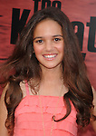 "WESTWOOD, CA. - June 07: Madison Pettis arrives at ""The Karate Kid"" Los Angeles Premiere at Mann Village Theatre on June 7, 2010 in Westwood, California."
