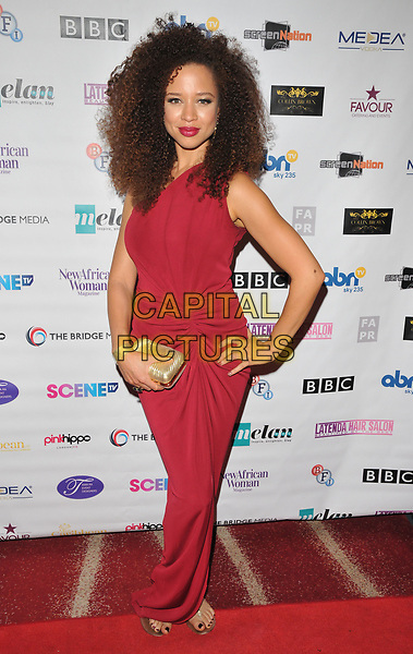 Natalie Gumede at the 12th Annual Screen Nation Film &amp; Television Awards 2017, Park Plaza Riverbank Hotel, Albert Embankment, London, England, UK, on Sunday 07 May 2017.<br /> CAP/CAN<br /> &copy;CAN/Capital Pictures