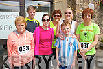 Pictured at the Athea Tidy Towns 5k and 10k fun run and walk which took place on Sunday were Front Row L-R Birdie Ambrose, Elaine Tierney and Evan Curry, Athea.  Back Row L-R Micheal Ambrose, Ann-Marie O'Sullivan, Michelle Curry and Kathleen Ambrose, Athea.