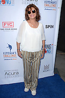 Susan Sarandon<br /> at Clayton Kershaw's Ping Pong 4 Purpose Celebrity Tournament to Benefit Kershaw's Challenge, Dodger Stadium, Los Angeles, CA 08-11-16<br /> David Edwards/MediaPunch