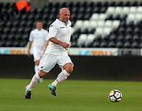 Andy Robinson of Swansea Legends during the Swansea Legends v Manchester United Legends at The Liberty Stadium, Swansea, Wales, UK. Wednesday 09 August 2017