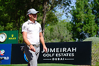 Danny Willett (ENG) on the 16th during the 1st round of the DP World Tour Championship, Jumeirah Golf Estates, Dubai, United Arab Emirates. 15/11/2018<br /> Picture: Golffile | Fran Caffrey<br /> <br /> <br /> All photo usage must carry mandatory copyright credit (© Golffile | Fran Caffrey)
