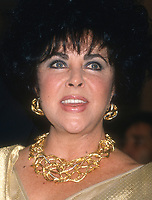 Elizabeth Taylor 1994<br /> Photo By Michael Ferguson/PHOTOlink.net