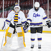 Noah Klag (Williams - 33), James McNamara (Williams - 3) - The Williams College Ephs defeated the Trinity College Bantams 4-2 (EN) on Tuesday, January 7, 2014, at Fenway Park in Boston, Massachusetts.