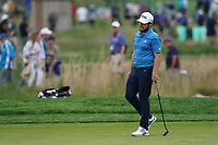 Tyrrell Hatton (ENG) on the 1st fairway during the 2nd round at the PGA Championship 2019, Beth Page Black, New York, USA. 18/05/2019.<br /> Picture Fran Caffrey / Golffile.ie<br /> <br /> All photo usage must carry mandatory copyright credit (&copy; Golffile | Fran Caffrey)