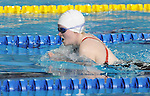 November 13 2011 - Guadalajara, Mexico: Meaghan Michie during her swim at the 2011 Parapan American Games in Guadalajara, Mexico.  Photos: Matthew Murnaghan/Canadian Paralympic Committee