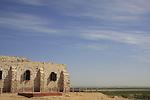 Israel, Northern Negev. The Turkish guard post at Park Ofakim in Besor region