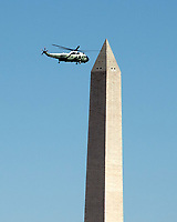 Donald Trump Departure from the Pentagon