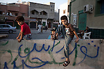 Sco0033837 .  Daily Telegraph..Libyan citizens guard their neighbourhood in the Sidi al Masri district of Tripoli...Tripoli 28 August 2011. ............Not Getty.Not Reuters.Not AP.Not Reuters.Not PA