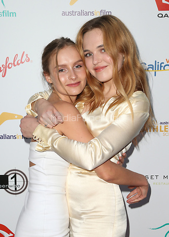 WEST HOLLYWOOD, CA June 01- Olivia DeJonge, Odessa Young, at The 9th Annual Australians In Film Heath Ledger Scholarship Dinner at Sunset Marquis Hotel, California on June 01, 2017. Credit: Faye Sadou/MediaPunch