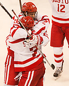 Oskar Andrén (BU - 26), Shane Switzer (BU - 2) The Boston University Terriers defeated the visiting Yale University Bulldogs 5-2 on Tuesday, December 13, 2016, at the Agganis Arena in Boston, Massachusetts.