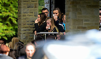 2017 03 02 Funeral of Nyah James, Morriston Crematorium, Wales, UK