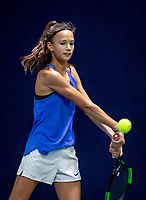 Hilversum, Netherlands, December 2, 2018, Winter Youth Circuit Masters, Jade Groen (NED)<br /> Photo: Tennisimages/Henk Koster
