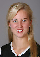 STANFORD, CA - NOVEMBER 4:  Ilyssa McIntyre of the Stanford Cardinal lacrosse team poses for a headshot on November 4, 2008 in Stanford, California.