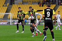 Wellington Phoenix' Sarpreet Singh in action during the A-League - Wellington Phoenix v Western Sydney Wanderers at Westpac Stadium, Wellington, New Zealand on Saturday 3 November  2018. <br /> Photo by Masanori Udagawa. <br /> www.photowellington.photoshelter.com