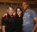 """Stephen Schwartz, Anne Kaufman and Alvin Hough Jr. attends the Opening Night performance afterparty for ENCORES! Off-Center production of """"Working - A Musical""""  at New York City Center on June 26, 2019 in New York City."""