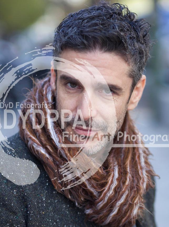 """04/12/2012 Madrid, España Posados durante la presentacion de la pelicula """"Una Pistola en Cada Mano"""" en la Foto el Actor Leonardo Sbaraglia (C) Nacho Lopez/ DyD Fotografos"""