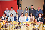 Colette Calder from Killorglin celebrating her 38th Birthday with family and friends at Restaurant Uno on Saturday. Pictured  Front l-r Penny McCarthy, Hazel McCarthy, Lisa O'Meara, Colette Calder, Anita Kennedy, Atlanta Kennedy, Carmel O'Doherty.  Back l-r David Sullivan, Florence McCarthy, Miles McCarthy, Ian Daly, Jim Clifford, Arthur Calder
