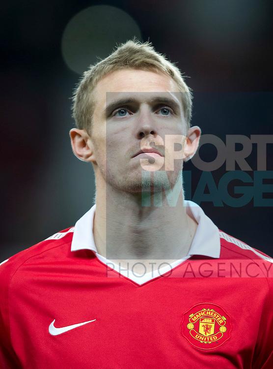 Darren Fletcher of Manchester United