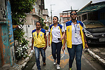 RECIFE, BRAZIL - JANUARY 9: Workers for the Environmental Health Department, go door to door speaking with residents about about how to take care of standing water, which provides perfect breeding ground for the zika-carrying mosquitoes, in Recife, Pernambuco, Brazil, on Saturday, Jan. 9, 2016. There are about 3,530 suspected cases of zika-related microcephaly in Brazil.<br />  <br /> The mosquito-borne Zika virus continues to spread in Brazil, alarming health officials and expecting mothers that their babies will be born with abnormal brain development called microcephaly. While researchers have yet to make a connection, Brazil has the highest number of babies born with mircocephaly - the most cases in Recife, Pernambuco - from mothers who tested positive to the Zika virus. There are about 3,530 suspected cases of zika-related microcephaly in Brazil.