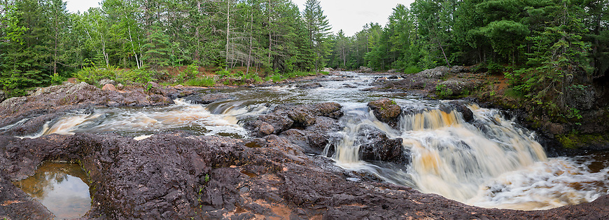 Amnicon Falls State Park has several of the most photogenic waterfalls in Wisconsin.