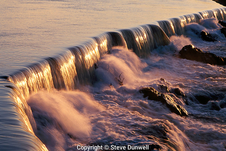 Merrimack River, Pawtucket Falls, Lowell, MA