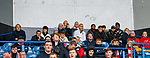 06.10.2019 Rangers v Hamilton: Jan Age Fjortoft (L) watching his son Markus Fjortoft at Ibrox