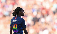 Sandy, Utah - Thursday June 07, 2018: Crystal Dunn during an international friendly match between the women's national teams of the United States (USA) and China PR (CHN) at Rio Tinto Stadium.