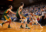 BROOKINGS, SD - DECEMBER 28:  Michael Orris #50 from South Dakota State looks to make a move against North Dakota State during their game Wednesday night at Frost Arena in Brookings. (Dave Eggen/Inertia)