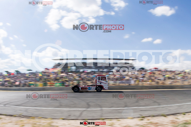 Spanish driver David Marco Bermejo belonging Spanish team David Marco Bermejo  during the fist race R1 of the XXX Spain GP Camion of the FIA European Truck Racing Championship 2016 in Madrid. October 01, 2016. (ALTERPHOTOS/Rodrigo Jimenez) /NortePHOTO /NORTEPHOTO.COM