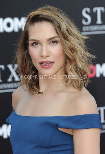 www.acepixs.com<br /> <br /> July 26 2016, LA<br /> <br /> Allison Holker arriving at the premiere of 'Bad Moms' at the Mann Village Theatre on July 26, 2016 in Westwood, California.<br /> <br /> By Line: Peter West/ACE Pictures<br /> <br /> <br /> ACE Pictures Inc<br /> Tel: 6467670430<br /> Email: info@acepixs.com<br /> www.acepixs.com