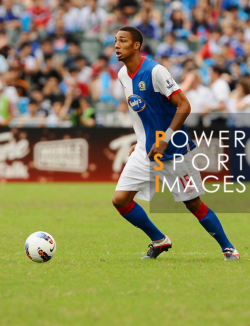 SO KON PO, HONG KONG - JULY 30: Steven N'zonzi of Blackburn Rovers in action during the Asia Trophy pre-season friendly match against Kitchee at the Hong Kong Stadium on July 30, 2011 in So Kon Po, Hong Kong.  Photo by Victor Fraile / The Power of Sport Images