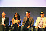 """Guiding Light's Matt Bomer """"Ben Reade"""" and now """"Neal Caffrey on USA's White Collar and cast: (L to R) Willie Garson """"Mozzie"""", Marsha Thomason """"Diana"""", Tim DeKay """"Peter Burke"""" were a part of White Collar Comes Clean at the Paley Center for Media, New York City, NY on June 7, 2010. (Photo by Sue Coflikn/Max Photos)"""