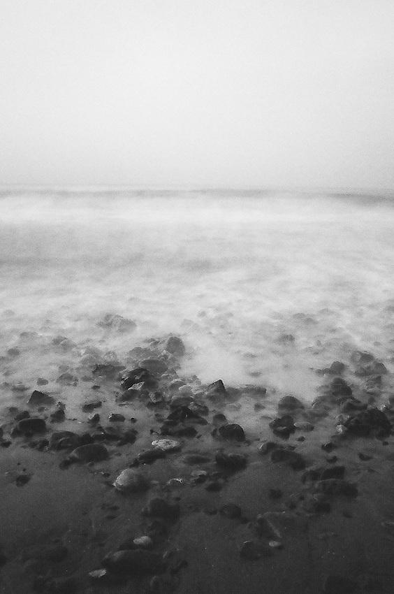 Fog No. 1, Crystal Cove State Park , CA. 35mm film