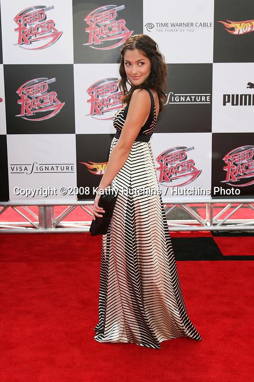 "Minka Kelly.""Speed Racer"" Premiere.Nokia Theater.Los Angeles, CA.April 26, 2008.©2008 Kathy Hutchins / Hutchins Photo"